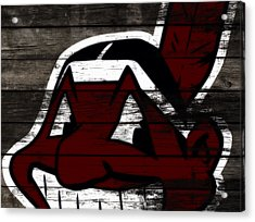 The Cleveland Indians 3h    Acrylic Print