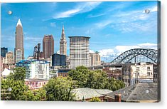 The Cleveland Skyline Acrylic Print