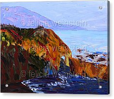 The Cliff 1 Acrylic Print