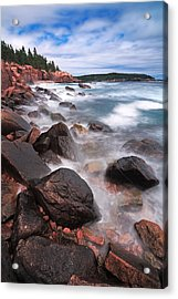 The Cliff   Acrylic Print