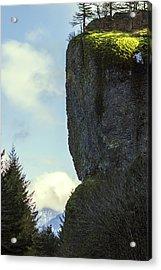The Cliff Acrylic Print