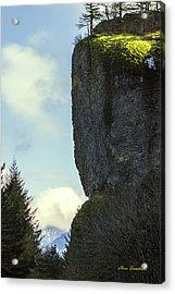 The Cliff Signed Acrylic Print