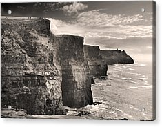 The Cliffs Of Moher Acrylic Print by Robert Lacy