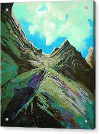 The Climb Acrylic Print by Dale  Witherow
