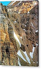 The Climb To Abbot's Hut Acrylic Print by Steve Harrington