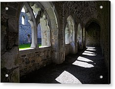 The Cloisters In Killmallock 12th Acrylic Print by Panoramic Images