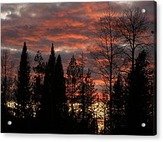Acrylic Print featuring the photograph The Close Of Day by DeeLon Merritt
