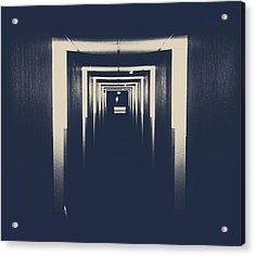 The Closed Doors Acrylic Print by Jerry Cordeiro
