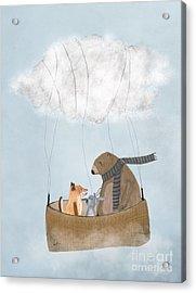 The Cloud Balloon Acrylic Print