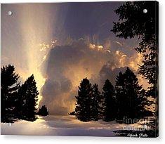 The Cloud Acrylic Print