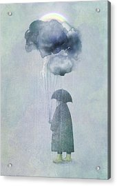 The Cloud Seller Acrylic Print by Eric Fan