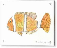 The Clown Fish Acrylic Print