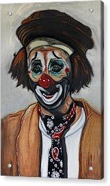 The Clown Acrylic Print by Joachim G Pinkawa