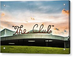 Acrylic Print featuring the photograph The Club Birmingham by Parker Cunningham