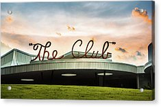 Acrylic Print featuring the photograph The Club Panorama by Parker Cunningham