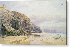 The Coast Of Cornwall  Acrylic Print by John Mogford