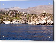The Coast Of Zingaro Reserve Acrylic Print by Focus  Fotos