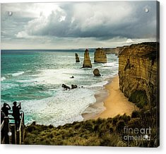 Acrylic Print featuring the photograph The Coast by Perry Webster