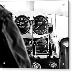 Acrylic Print featuring the photograph Ready For Takeoff by Rand