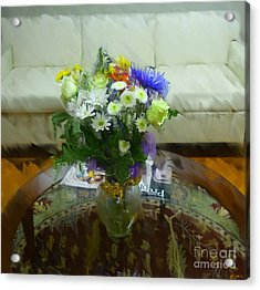 The Coffee Table Acrylic Print by Jeff Breiman
