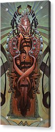 The Coffin Bloom  Acrylic Print by Ethan Harris