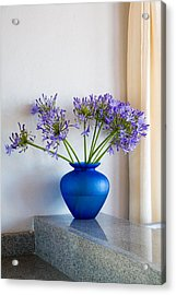 The Color Blue Acrylic Print by Eggers Photography