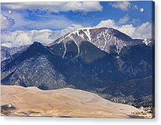 The Colorado Great Sand Dunes  125 Acrylic Print by James BO  Insogna