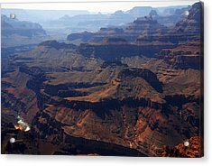 The Colorado River Acrylic Print by Susanne Van Hulst