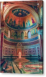 The Colorful Interior Of Roman Catholic Cathedral Acrylic Print