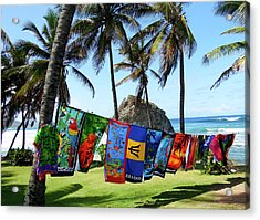 Acrylic Print featuring the photograph The Colors Of Barbados by Kurt Van Wagner