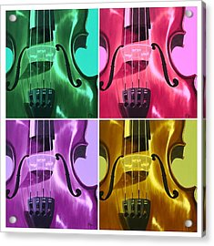 The Colors Of Sound Acrylic Print