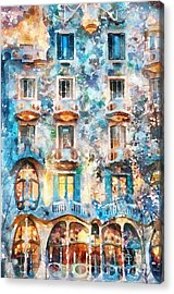The Colors Of Spain Acrylic Print by Shirley Stalter