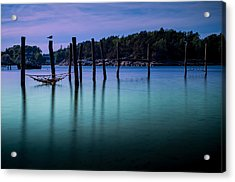 The Colors Of The Evening Acrylic Print