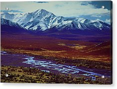 The Colors Of Toklat River Acrylic Print