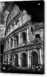 The Colosseum Rome Acrylic Print by Darren Burroughs