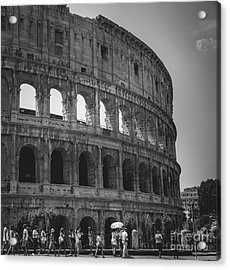 The Colosseum, Rome Italy Acrylic Print