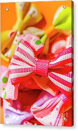 The Colourful Accessory Store Acrylic Print
