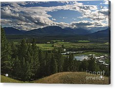 The Columbia Valley Acrylic Print