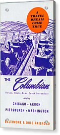 The Columbian Acrylic Print