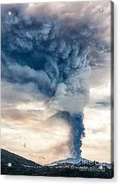 The Column Acrylic Print by Giuseppe Torre