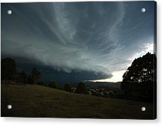 Acrylic Print featuring the photograph The Coming Storm by Odille Esmonde-Morgan