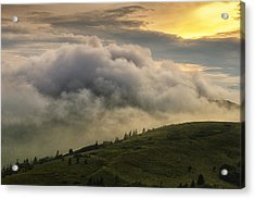 Summer Storm - Roan Mountain Acrylic Print