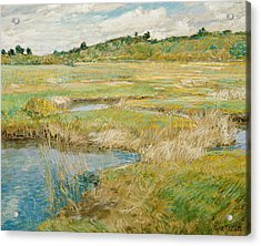 The Concord Meadow Acrylic Print by Childe Hassam