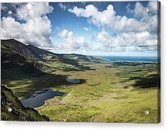 The Conor Pass, Co Kerry. Acrylic Print