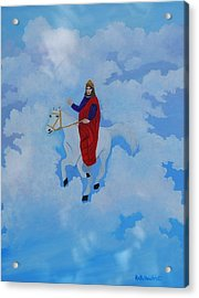 The Conqueror And King Acrylic Print by Ruth  Housley