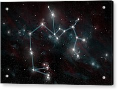 Sagittarius The Archer Acrylic Print