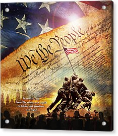 The Constitution Acrylic Print