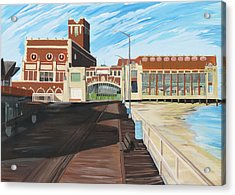 The Convention Hall  Asbury Park  Acrylic Print by Patricia Arroyo