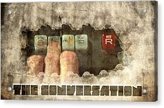 The Conversation Acrylic Print by Andrea Barbieri