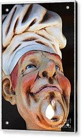 The Cook Acrylic Print